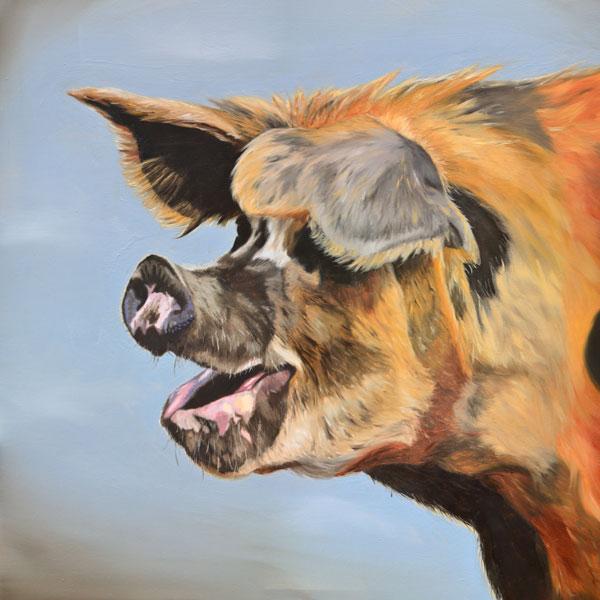 Winnie Oil Painting