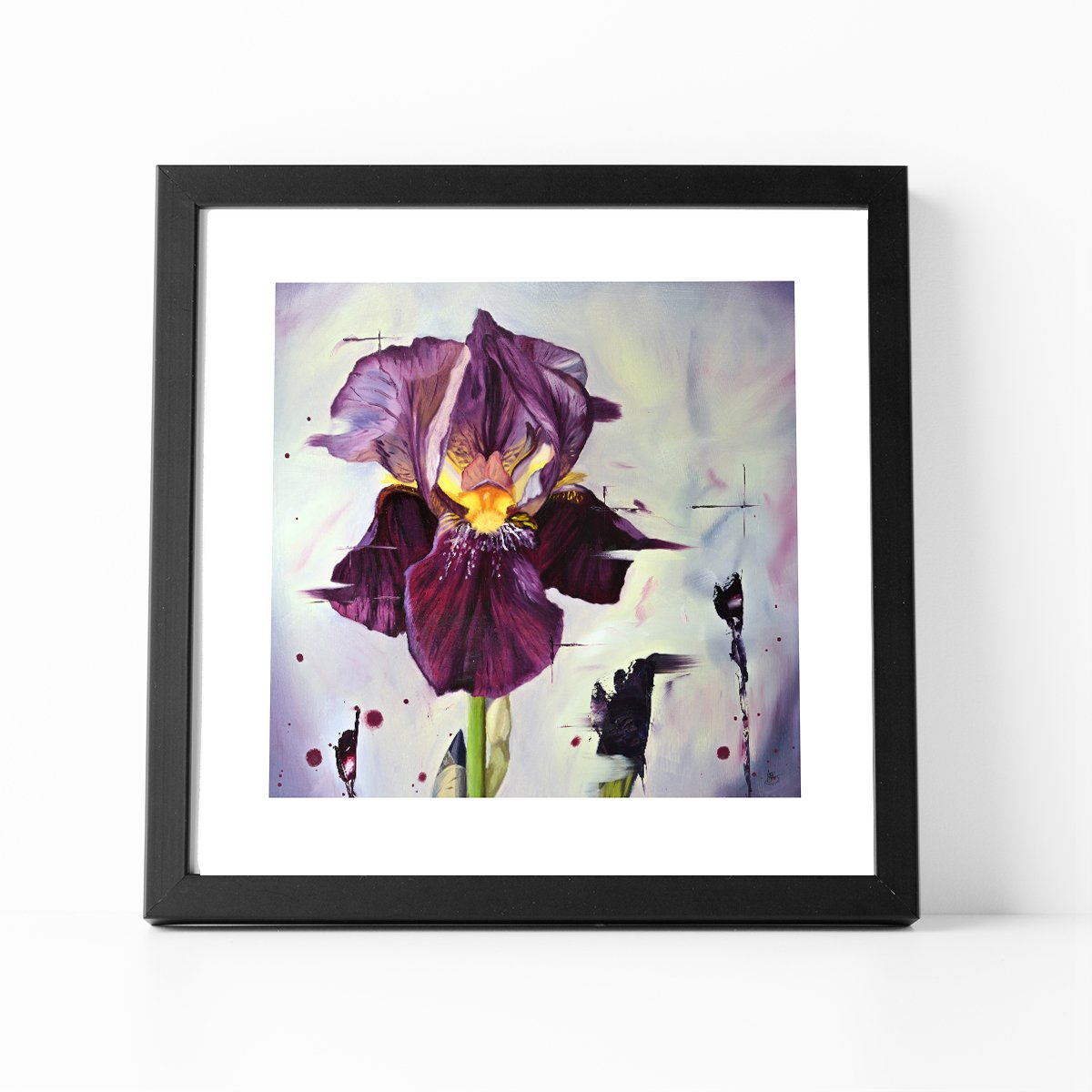 Dark Magic framed print