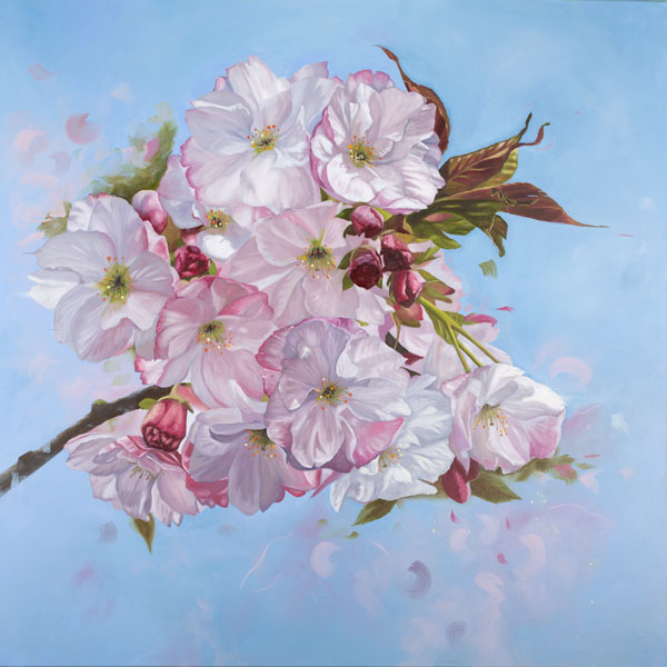 Oil painting Ephemeral beauty