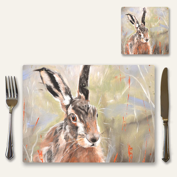 Place mat of Pepper the hare